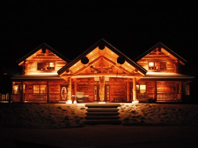 QuakingAspen-RanchHouse-WinterNight